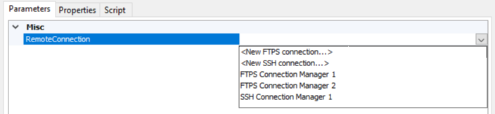 Connection Selector